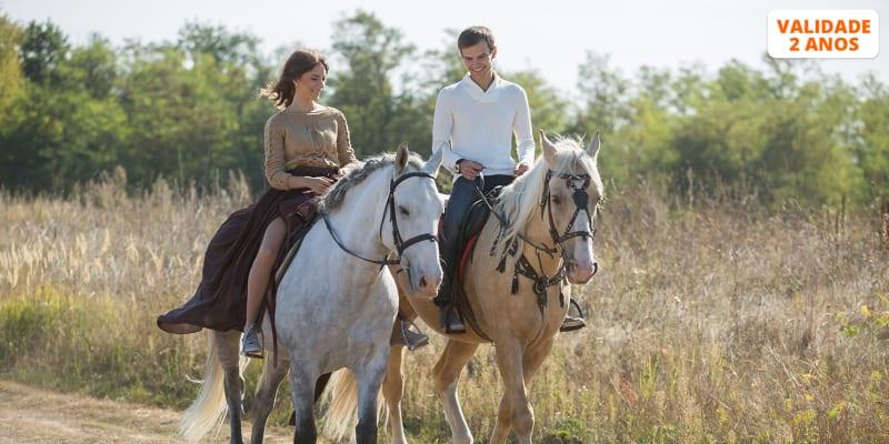 Dia de Sonho no Campo a Dois ou em Família | Baptismo a Cavalo + Almoço + Opção Piscina | The Camp