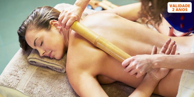 Massagem com Bambus ou Crânio-Sacral   45 Minutos   Cascais