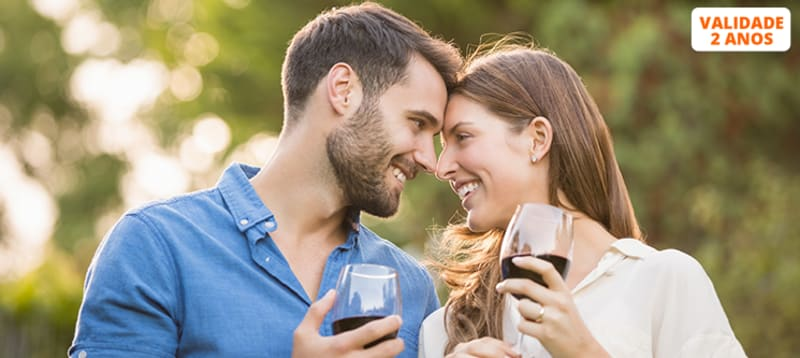Visita à Vinha e Adega + Prova de Vinhos & Petiscos para Dois | Adega dos Capuchos