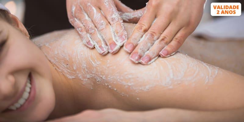 Miminhos para o Corpo: Esfoliação + Envolvimento + Massagem   2 Horas   Sintra