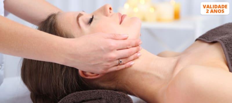 Massagem Relaxante & Mini Facial   50 Minutos   5 Clínicas Sorria