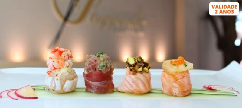 Sushi de Autor by Gerardo Aguilon para Dois | Stuppendo Sushi Bar - Paço de Arcos