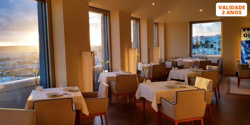 Cheque Gourmet 50€ no Restaurante Suba & Vista Panorâmica! Verride Palácio Santa Catarina - Lisboa