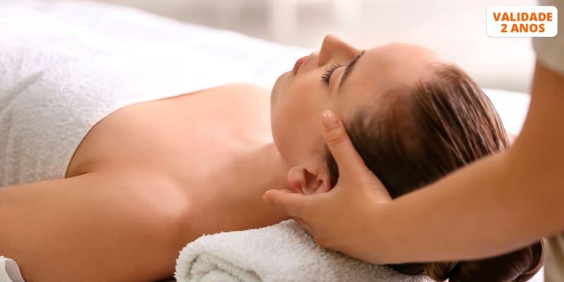 Massagem Relaxamento & Spa Facial Completo | 1 Hora | 5 Clínicas Sorria