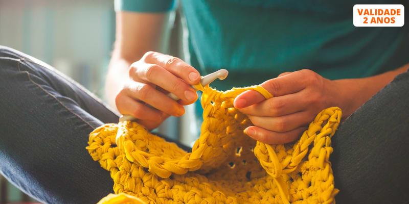 Workshop Individual de Iniciação ao Tricot ou Crochet - 3h | The Craft Company Cascais