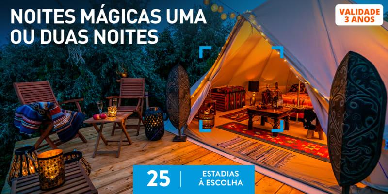 Noites Mágicas Uma Ou Duas Noites | 25 Estadias à Escolha