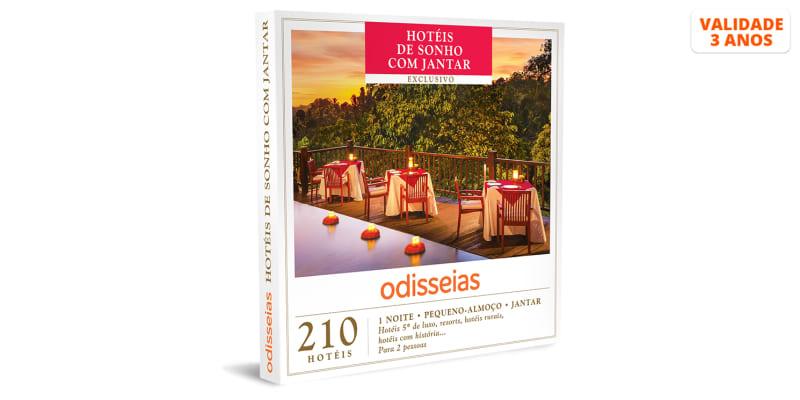 Hotéis de Sonho com Jantar | 210 Hotéis