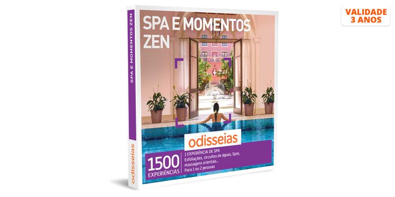 Spa e Momentos Zen   1500 Experiências