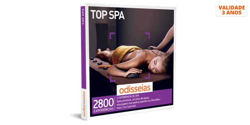 Top Spa | 2800 Experiências
