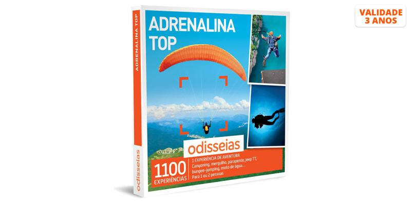 Adrenalina Top | 1100 Experiências