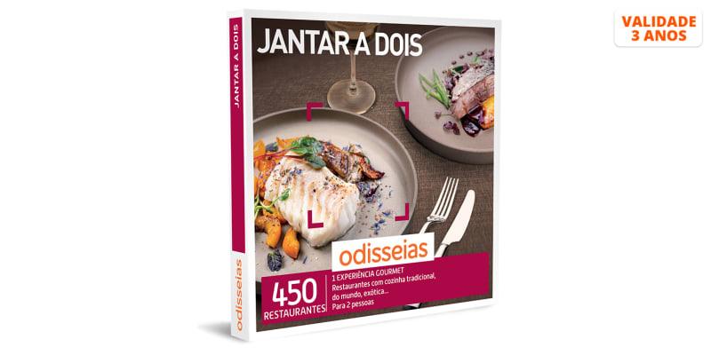 Jantar a Dois | 450 Experiências
