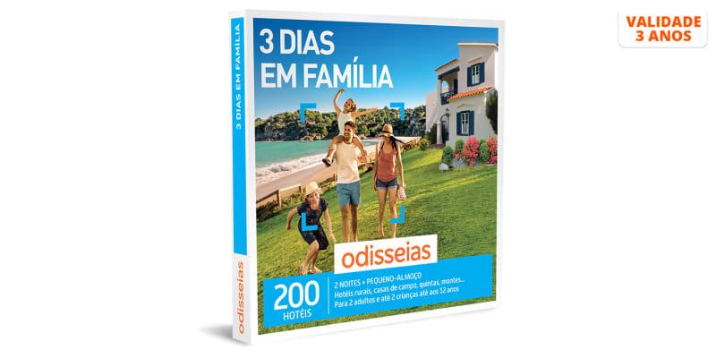 3 Dias em Família | 200 Hotéis