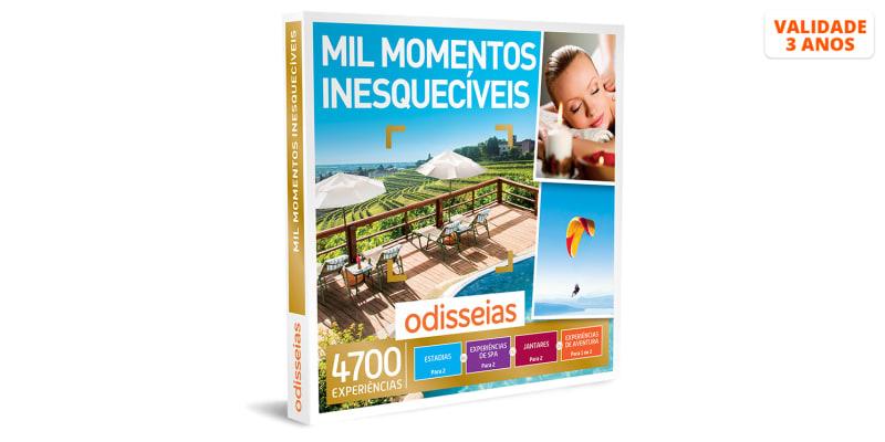 Mil Momentos Inesquecíveis | 4700 Experiências