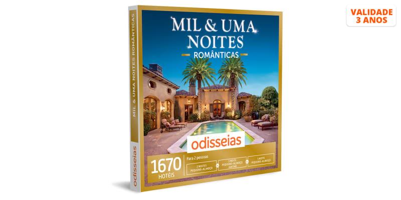 Mil & Uma Noites Românticas - 1 Noite com Jantar ou 2 Noites | 1670 Hotéis