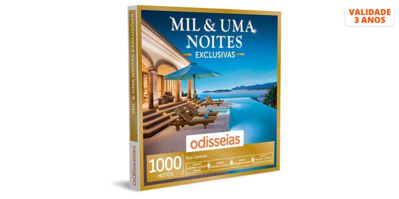 Mil & Uma Noites Exclusivas - 1 ou 2 Noites e SPA ou Jantar | 1000 Hotéis