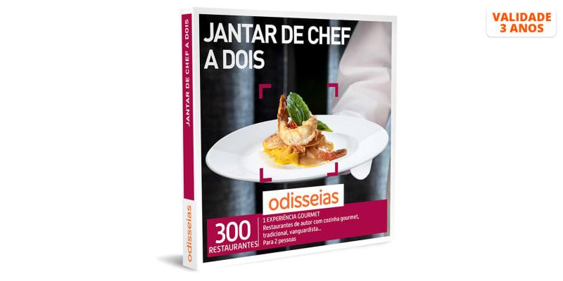 Jantar de Chef a Dois | 300 Experiências