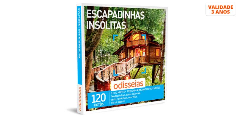 Escapadinhas Insólitas | 120 Estadias à Escolha