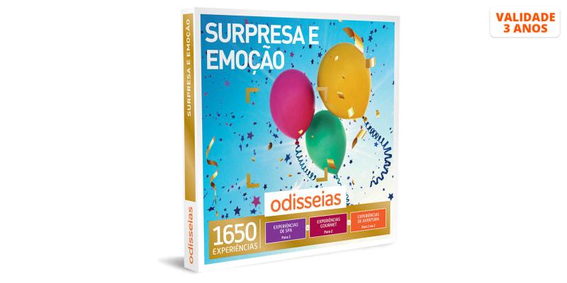 Surpresa e Emoção | 1650 Experiências