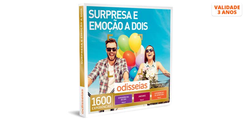 Surpresa e Emoção a Dois | 1600 Experiências