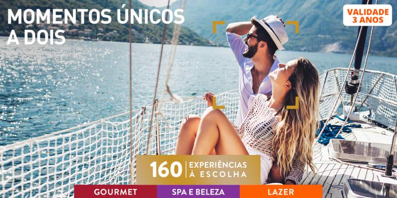 Momentos Únicos a Dois | 160 Experiências à Escolha