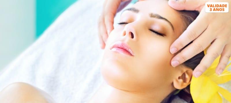 Pura Tranquilidade! Massagem Crânio-Facial   30 Minutos   Av. Roma