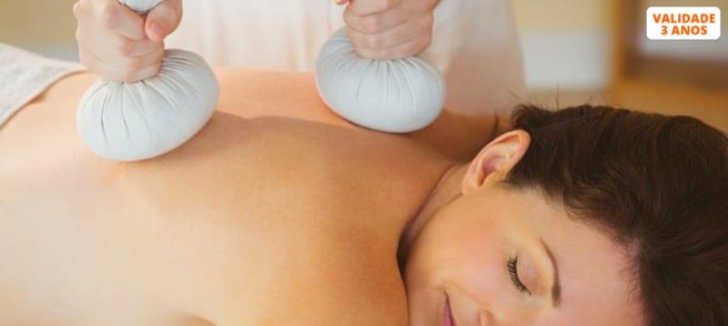 Massagem à Escolha: Aromaterapia, Velas ou Pindas   40 Min.   Carnaxide