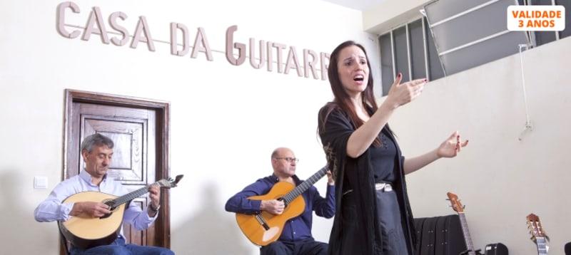 Concerto de Fado na Casa da Guitarra «Fado às 6»   Porto   Bilhete Criança, Júnior ou Adulto