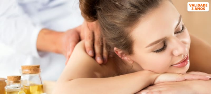 Pleno Bem-Estar! Massagem de Relaxamento Corpo Inteiro   1 Hora   Odivelas