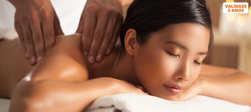 Relaxe: Massagem de Corpo Inteiro | 40 Minutos | Moita