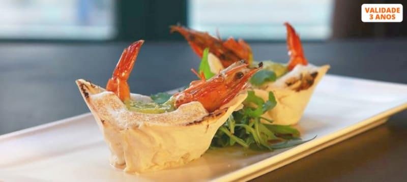 Mezzanine Creative Restaurant | Jantar à Carta para Dois em Santos