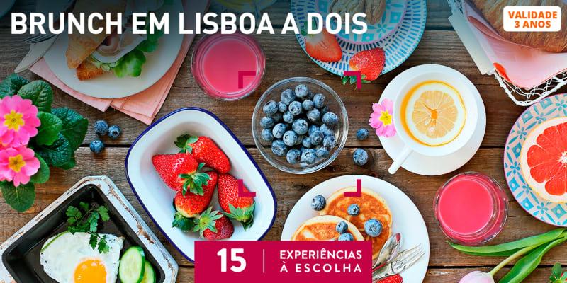 Brunch em Lisboa a Dois | 15 Experiências à Escolha