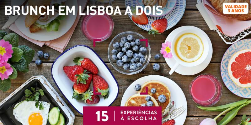 Brunch em Lisboa a Dois   15 Experiências à Escolha
