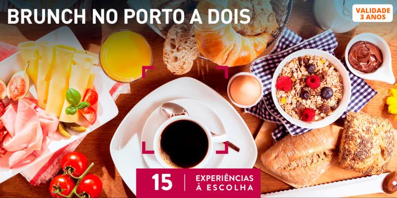 Brunch no Porto a Dois | 15 Experiências à Escolha