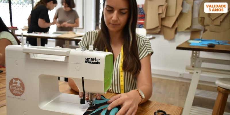 Workshop de Iniciação à Costura | 4h | Criação Saco de Compras Reutilizável - Companhia das Agulhas