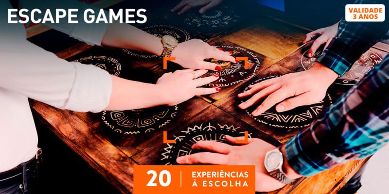 Escape Games | 30 Experiências à Escolha