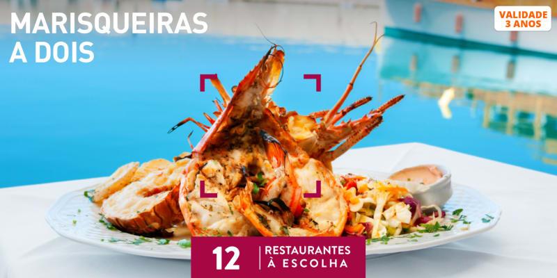 Marisqueiras a Dois | 12 Restaurantes à Escolha