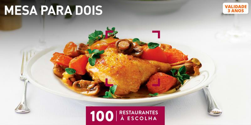 Mesa para Dois | 100 Restaurantes à Escolha