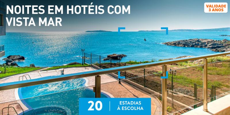 Noites em Hotéis com Vista Mar | 20 Estadias à Escolha