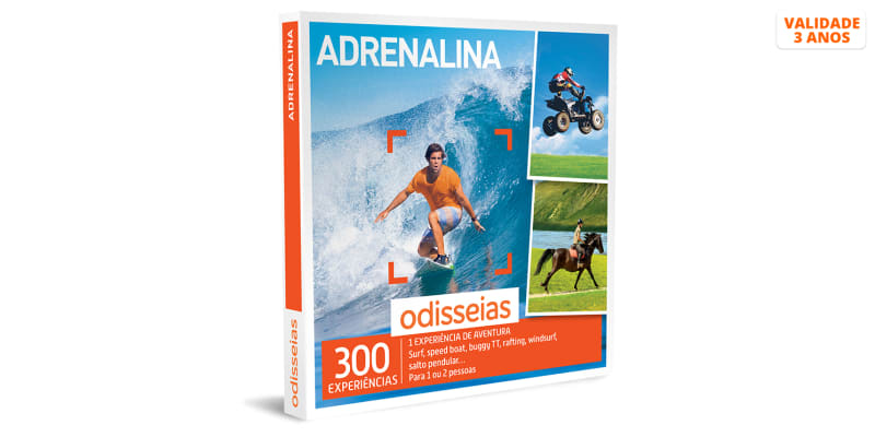 Adrenalina | 300 Experiências