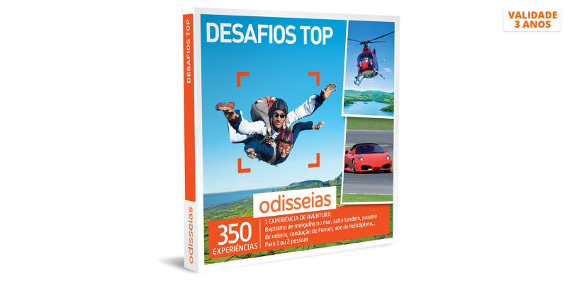 Desafios Top | 350 Experiências
