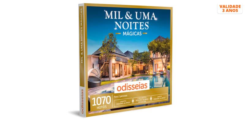 Mil & Uma Noites Mágicas - 1 ou 2 noites e acesso ao Spa   1070 Hotéis