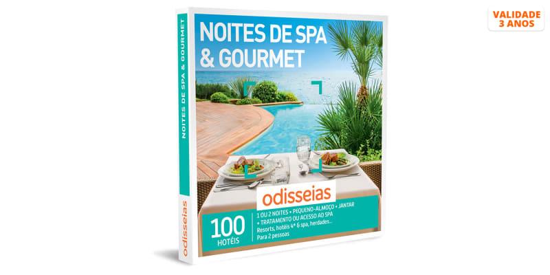 Noites de SPA & Gourmet | 100 Hotéis