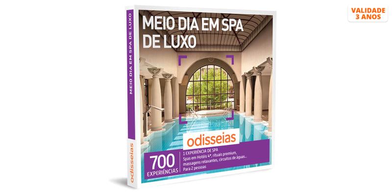 Meio Dia em SPA de Luxo | 700 Experiências