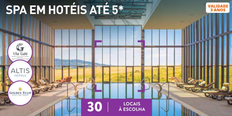SPAs de Hotel | Circuito + Massagem ou Tratamento | 30 Locais à Escolha