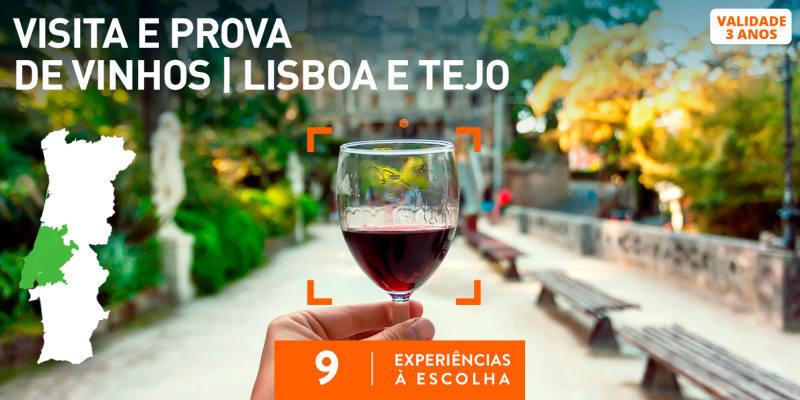 Visita e Prova de Vinhos | Lisboa e Tejo | 9 Experiências à Escolha