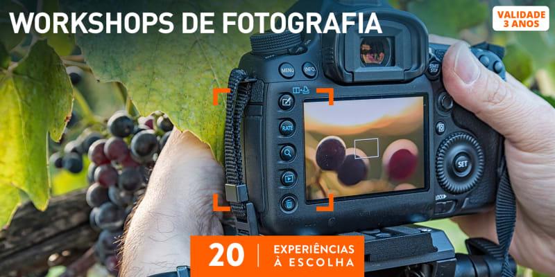 Workshops de Fotografia | 25 Experiências à Escolha