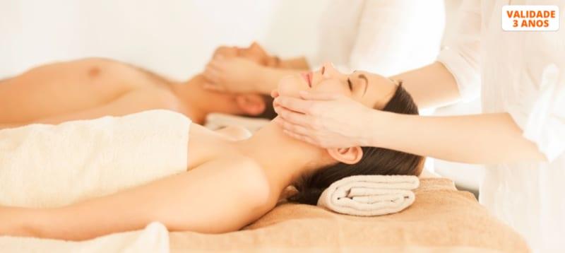 Massagem a Dois c/ Óleos Essenciais Exóticos | 45 Min. | Braga ou Guimarães