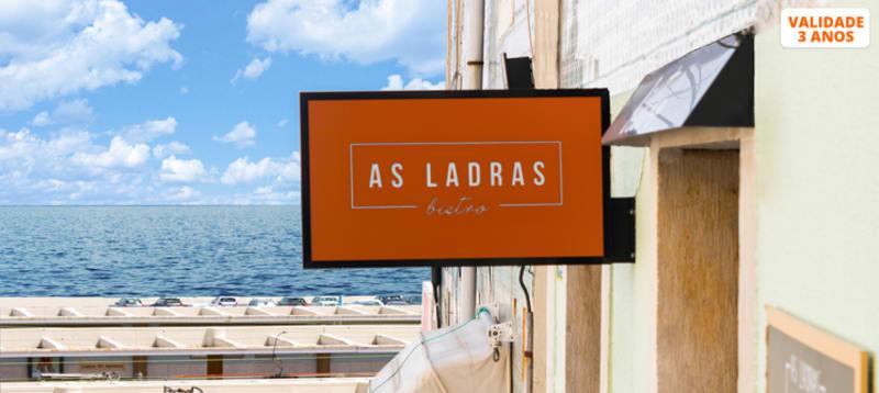 Experiência Gastronómica n´ As Ladras para Dois | Santa Apolónia - Lisboa
