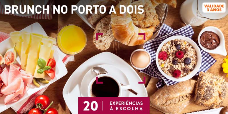 Brunch no Porto a Dois   20 Experiências à Escolha