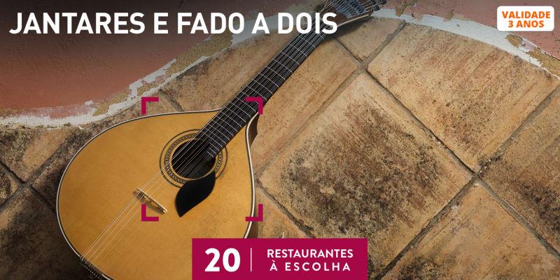 Jantares e Fado a Dois | 20 Restaurantes à Escolha